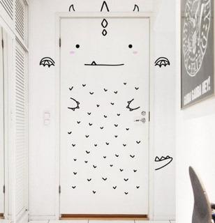 Hermosos Vinilos Decorativos Infantil Puertas Refrigerador