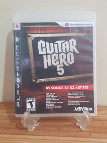 Guitar Hero 5 Ps3 Mídia Física