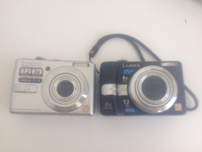 2 Câmeras Panasonic Lumix Sucatas