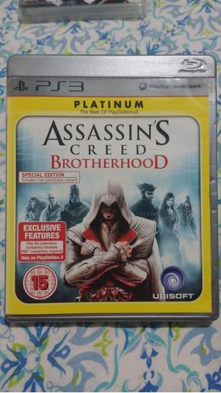 Assassins Creed Brotherhood(leia)- Mídia Física - Ps3