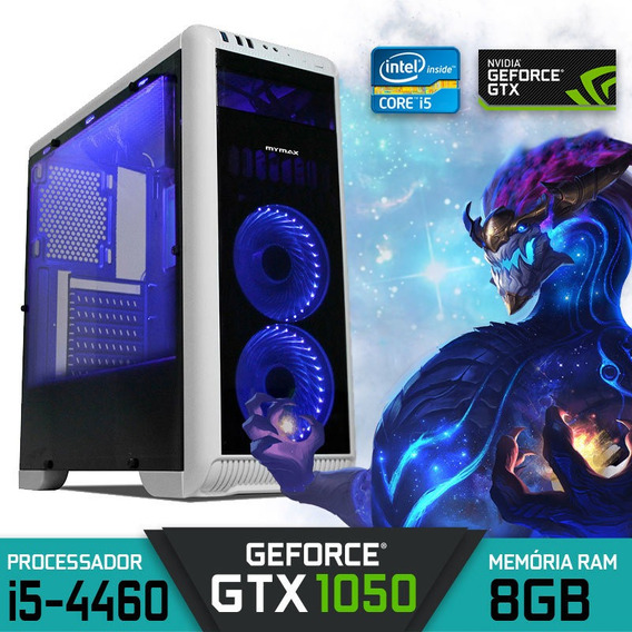 Computador Gamer Core I5-4460 Ram 8gb Gtx 1050 Hd 1tb Win10