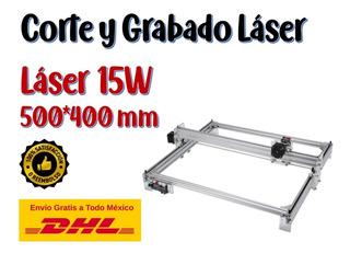 Nuevo!! Maquina 15w Corte Y Grabado Láser 500x400 Mm