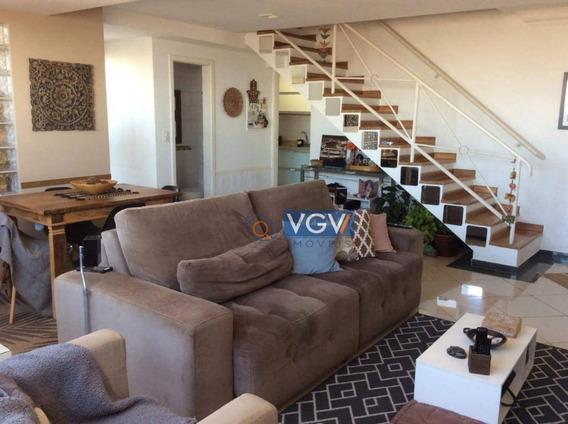 Cobertura Com 3 Dormitórios À Venda, 150 M² Por R$ 1.220.000 - Vila Guarani(zona Sul) - São Paulo/sp - Co0045