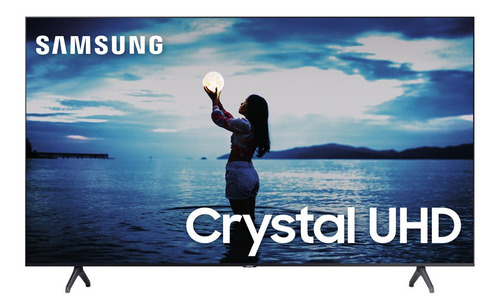 Smart Tv Samsung Led 55  Crystal Uhd 4k W-fi 2 Hdmi 1 Usb