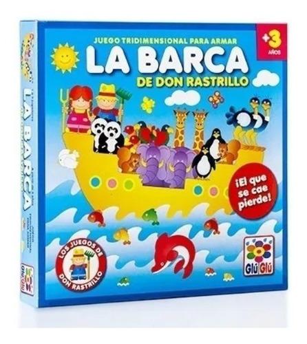 Imagen 1 de 5 de La Barca De Don Rastrillo Juego Mesa Infantil Ruibal Full