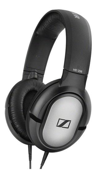 Fone De Ouvido Over Ear Sennheiser Hd 206 Stereo