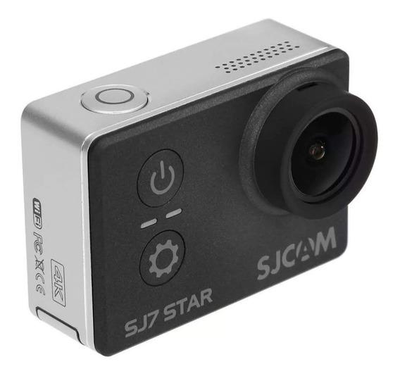 Sjcam Sj7 Star Câmera De Ação Com 3 Baterias E Vários Acessó