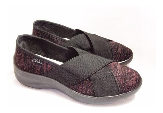 Zapatillas Elásticos Cruzados Pira