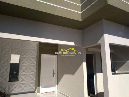 Imagem 1 de 19 de Casa Com 2 Dormitórios E 1 Suíte À Venda, 86 M² Por R$ 355.000 - Parque Nova Carioba - Americana/sp - Ca2759