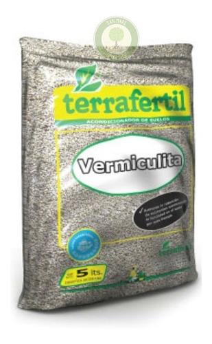 Vermiculita 5 Dm3 Mejora Y Acondiciona Suelos / Terrafertil