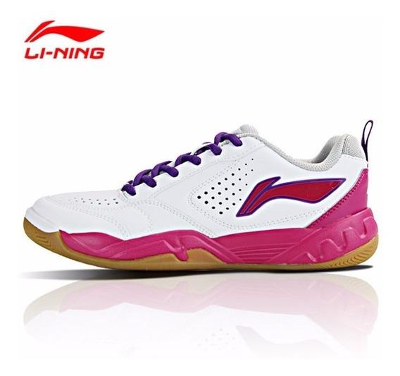 Calçado Tênis De Badminton Feminino - Li-ning Ayth016