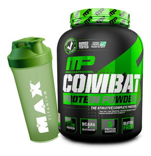 Whey Combat 1,8kg + Coqueteleira - Musclepharm
