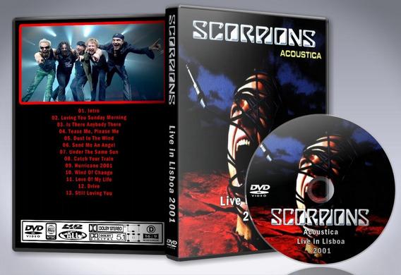 Dvd Scorpions - Acoustica Live In Lisboa 2001