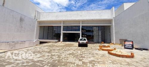 Imovel Comercial Em Fase Final De Costrução, Em Uma Das Principais Avenidas Da Cidade, Contendo 1.150 M² - Ba0203