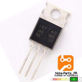 10 Pçs Transistor Irf740 F740 To220 Sihf740 400v 10a Mosfet