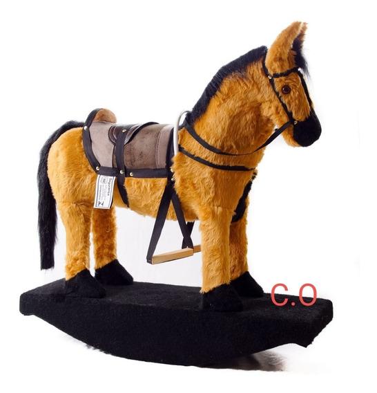 Cavalinho Cavalo Arte Balanço Show Brinquedo Pelucia D+ + !!