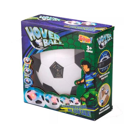 Bola Flutuante Eletrônica Flat Ball Futebol Luz Zoop 0244