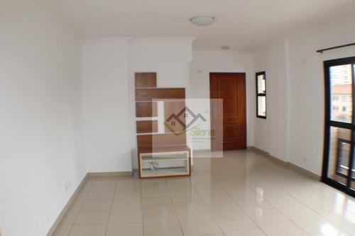 Apartamento Em Pompéia, Santos/sp De 160m² 4 Quartos À Venda Por R$ 795.000,00 - Ap964175