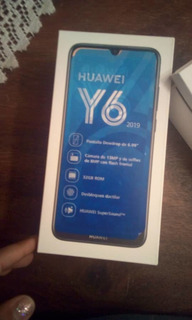 Huawei Y6 2019 Prácticamente Nuevo Solo 3 Días De Uso