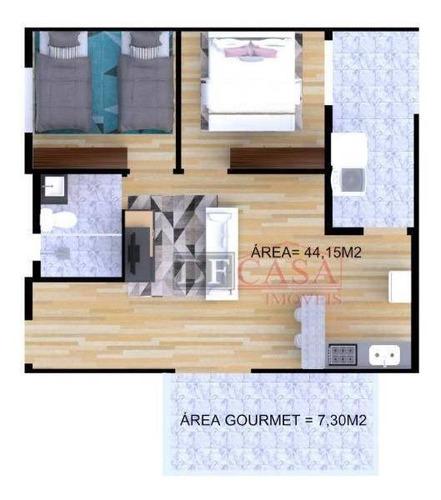 Imagem 1 de 12 de Apartamento Com 2 Dormitórios À Venda, 44 M² Por R$ 240.000,00 - Penha De França - São Paulo/sp - Ap5277