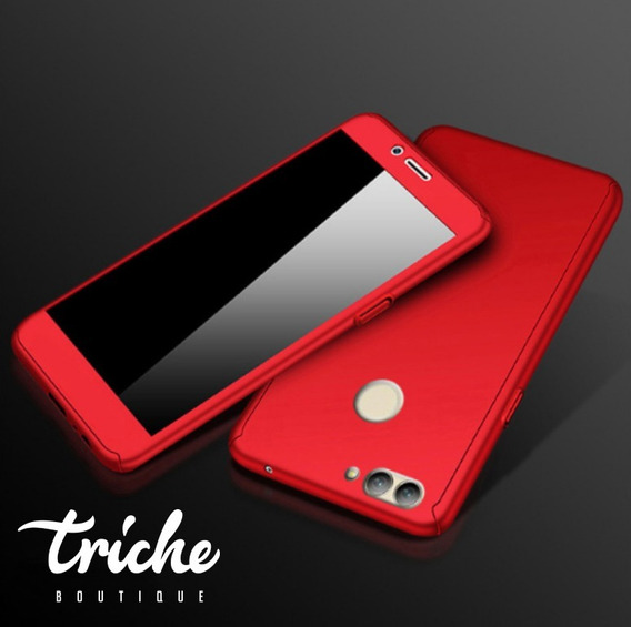 Funda 360 + Cristal Slim Colores Seria Huawei P10 Selfie