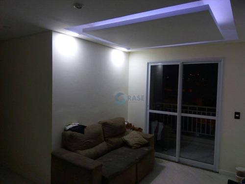 Apartamento À Venda, 55 M² Por R$ 404.500,00 - Interlagos - São Paulo/sp - Ap1739