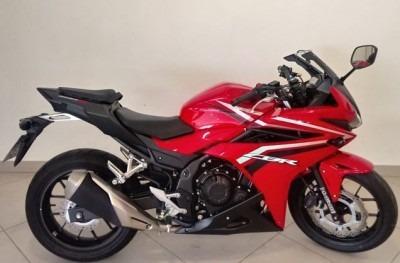 Motocicleta Honda Cbr 500r 2018 Vermelho