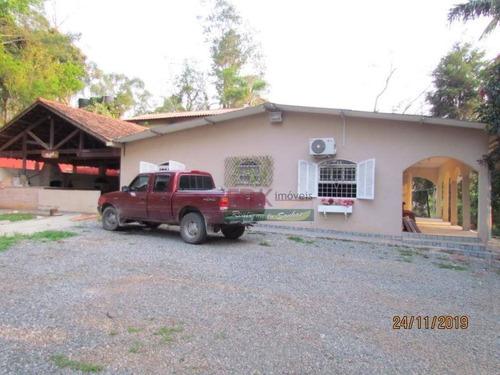 Imagem 1 de 22 de Chácara Com 4 Dormitórios À Venda, 11000 M² Por R$ 850.000,00 - Chácaras Reunidas Canadá - Santa Isabel/sp - Ch0575