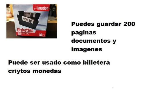Diskettes Imation 3.5hd. Caja 10 Unidades.