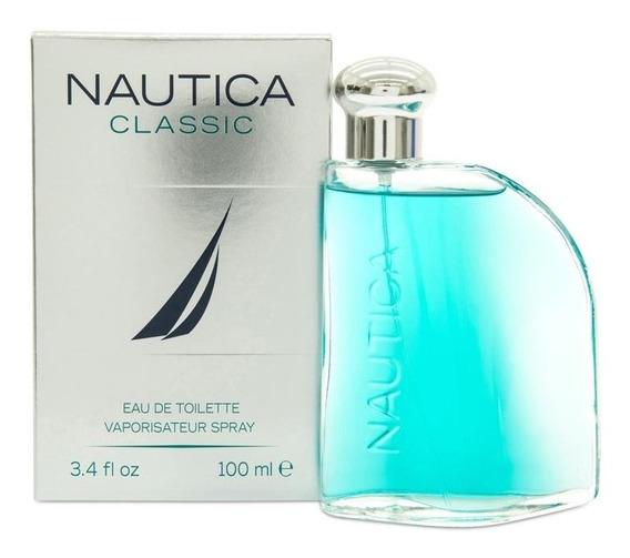 Nautica Classic 100ml Caballero Original Eeuu Import