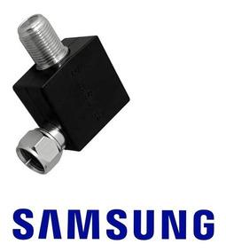 Adaptador Com Filtro Para Antena Samsung Original 90º