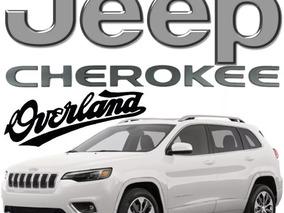 Jeep Cherokee Overland Piel Sunroof 271hp 6cil 9vel Abs Arh