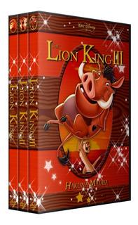 El Rey Leon Saga Completa Pack 4 Peliculas Colección Dvd