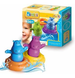Bimbi Hipopotamos Silbadores Para Bebe Original Dimare