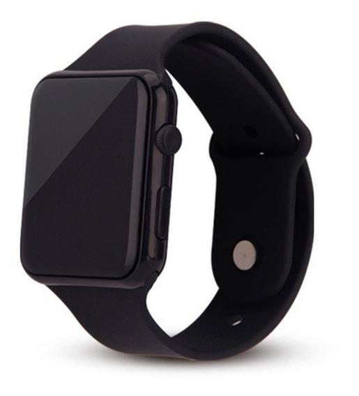 Relógio Led Design Estilo Apple Watch Pulseira Substituível