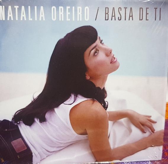 Natalia Oreiro Cd Single Basta De Ti