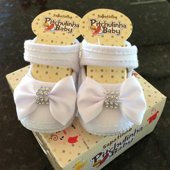 Sapatos Bebê Pitchulinha Kit 10un Pronta Entrega Frete Grati
