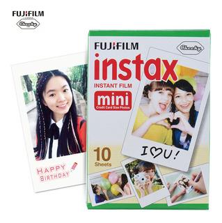 Papel Foto Fujifilm Instax Mini 10 Hojas Blanco Película
