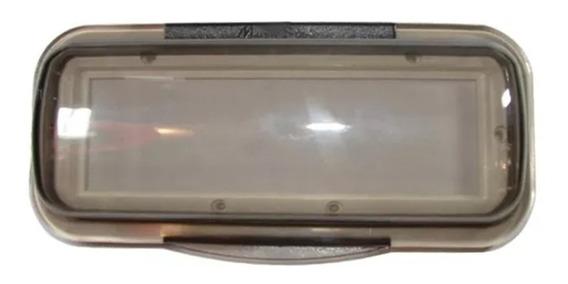 Protetor E Capa P/ Cd Rádio Lanchas Branco C/ Transparente