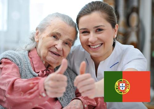 Cuidador De Idosos Em Portugal - Curso Online