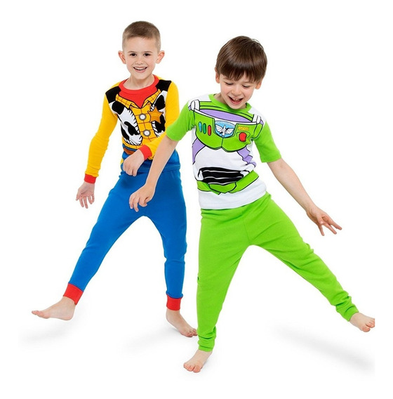Set De 2 Pijamas Para Niño De Toy Story Disney