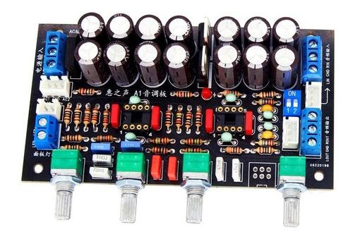 Imagen 1 de 2 de Modulo Preamplificador Audio Estereo Control Tonos 12v-18v