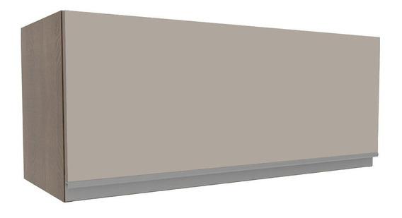Armário Aéreo Madesa Glamy 80 Porta Suspensa - Rustic/crema