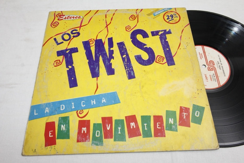 Vinilo Los Twist La Dicha En Movimiento 1983 Disco Debut | Mercado Libre