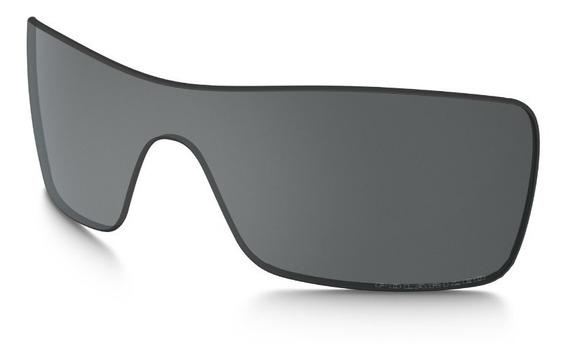 Lente De Reposição Para Oakley Batwolf Grey Polarized