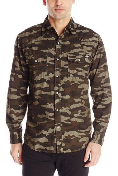 Excelente Camisa Camo Western Dickies S