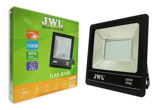 Reflector Led 100w Ultradelgada Para Exteriores 8000 Lm Jwj