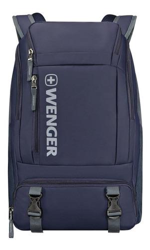 Imagen 1 de 6 de Mochila Wenger Para Laptop Xc Wynd 16 Pulgadas Azul / 610170