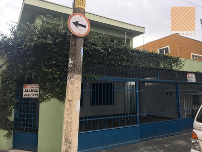 Sobrado Comercial Para Locação, Tatuapé, São Paulo. - So1452