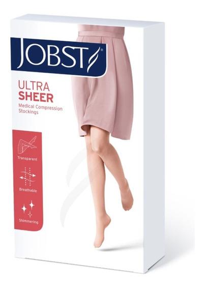 Media De Compresión Jobst Ultrasheer 15-20 Mmhg, Rodilla.